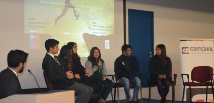 Gerente de Colsa expone ante estudiantes de  escuelas técnico profesionales de la zona