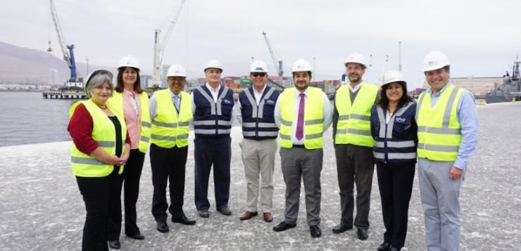 Subsecretario de Transportes visitó Puerto de Iquique y  destacó reconstrucción del terminal